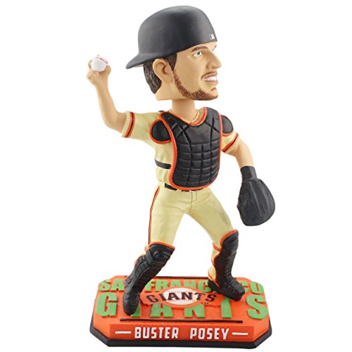 a3ba4a74e Buster Posey San Francisco Giants Players Weekend - Buster Bobblehead MLB  FOCO Christmas Decoration