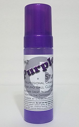 That Purple Stuff Bowling Ball Cleaner | 6 oz Foam Bottle | Bowling Accessories | Bowling Ball Cleaner | USBC Approved Anytime