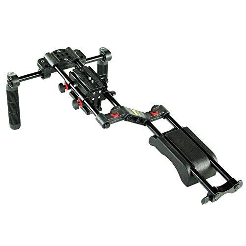 FILMCITY DSLR Camera Shoulder Mount Support (FC-10) Camera Shoulder Stabilizer Rig for All DSLR Video DV Camcorders  Free Matte Box by FILMCITY