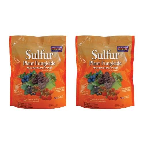 Bonide Products INC 142 Sulphur Dust Fungicide, 4-Pound, 4 lbs (2)