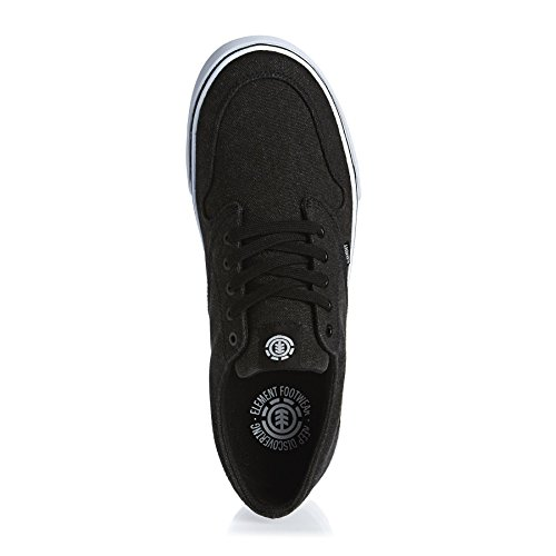 ELEMENT - Zapatillas de skateboarding de Lona para hombre BLACK WASHED