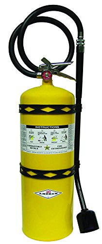 Amerex B570 Class D Sodium Chloride F.M. Approved Fire Extinguisher with Wall Bracket, 30 lb. by Amerex Corporation (Image #1)