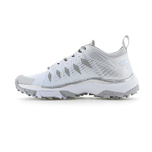 Color White Shoes Sizes Squadron Boombah Turf Multiple Women's Silver 14 Options XSvHgq7xwn