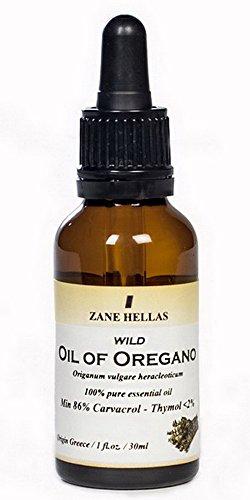 SUPER 100. 100% Pure Greek Wild Essential Oregano Oil. Min 86% Carvacrol. 1 oz.- 30ml. 129 mg Carvacrol per Serving.