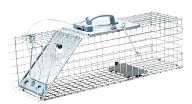 Havahart 1084 Easy Set One-Door Cage Trap for Rabbits