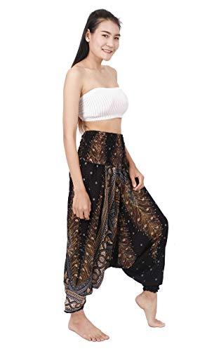 Banjamath Women's Harem Hippie Pants