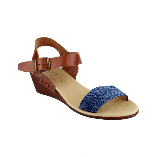 Riva - Sandalias de Vestir Mujer Azul