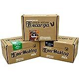 Pack de 3 recharges pour brasser 3 sortes de bière à la maison. Ipa, Weissbier, Pale Ale