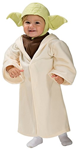 [Rubie's Costume Star Wars Complete Yoda, Multi, 12-24 Months Costume] (Star Wars Dress Up Costumes)