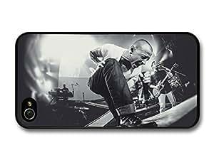 fashion case Chester Bennington Linkin Park Black and White Live Concert case for iphone 5c