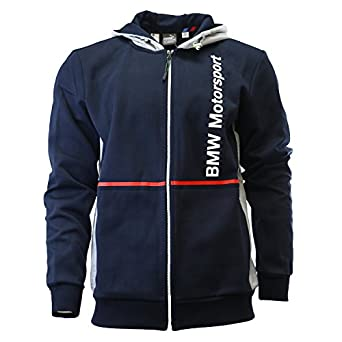 Amazon.com: Puma BMW Motorsport Hoodie Fan Hooded Sweat Jacket