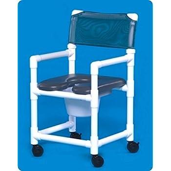 Amazon.com: MJM International 118-3TW-SSDE Standard Shower Chair ...