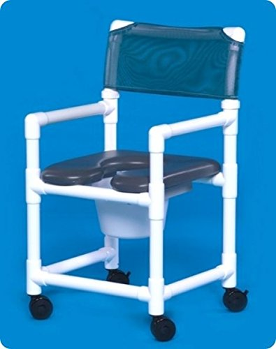 Innovative Products Unlimited VLOF17P Standard Line Open Front Soft Seat Shower Chair Commodes by Innovative Products (Features Product Line)