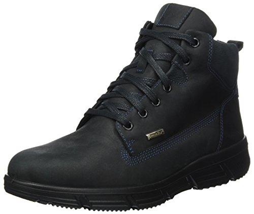Jomos Herren Montana Chukka Boots Mehrfarbig (Schwarz/ozean)