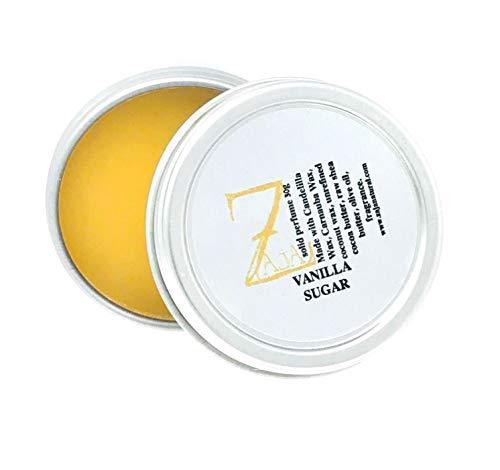 (Vanilla Sugar Solid Perfume by ZAJA Natural - 1 oz)