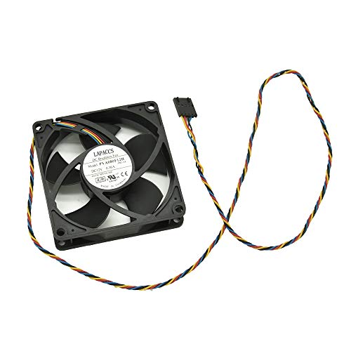 Artidux Replacement Case Fan 12V 0.36A 4WIRE 4.32W 808020mm for Dell OptiPlex 790 990 SFF Series Compatible Part Number: PVA080F12H 725Y7