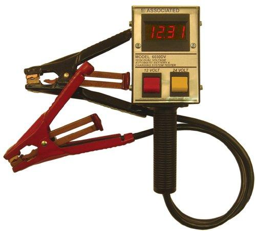 24 Volt Battery Load Tester : Associated equipment dv v amp hand held