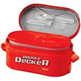 Milton Double Decker Lunch Box- Red