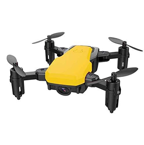 SDGSGSGDF Quadricoptère de caméra 720p Grand Drone Jaune 2 Millions Grand Angle 720p