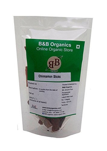 B&B Organics Cinnamon Sticks 500 g