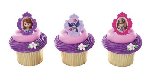 (48 ~ Sofia the First Sofia's Friends Rings ~ Designer Cake/Cupcake Topper ~)