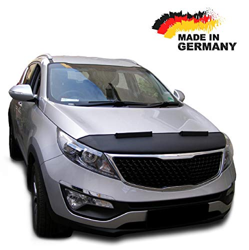 Hood Bra for KIA Sportage 3 Bonnet Car Bra Front End Cover Nose Mask Stoneguard Protector TUNING