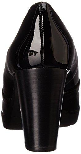 Womens Bella Platform Pump Black II Zari Vita Bella Patent Vita dPxStq