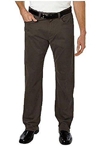 5 Pocket Cord Pant - Kirkland Signature Mens' 5-pocket Bedford Cord Pant (38x30, Chocolate)
