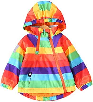991911a25e4 Lollyeca Kids Baby Boys Girl Velvet Hooded Active Windbreaker Jacket  Outerwear