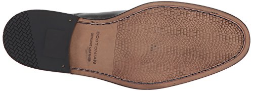 Bostonian Mens Nantasket Stap Loafer Zwart Leer
