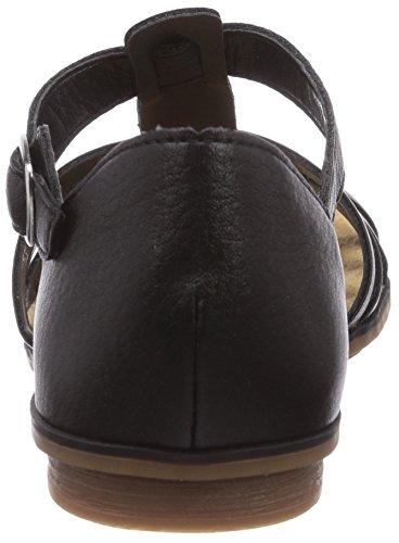Rieker 64288 - Sandalias de vestir de material sintético para mujer negro - Schwarz (schwarz / 01)