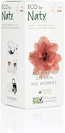 Eco by Naty Certified Ultra Thin Panty Liners Large 28 Liners