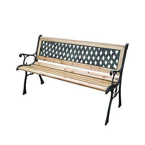 Swell Wooden Metal Garden Patio Bench Seat Outdoor Park Seater Lattice Rose Furniture Uk Seller Machost Co Dining Chair Design Ideas Machostcouk