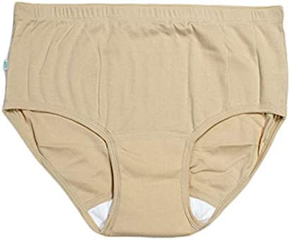 Bragas de incontinencia de adulto de las mujeres, ultra suave período menstrual posparto ropa de algodón de protección bragas, 2 Pack,M: Amazon.es: Salud y cuidado personal