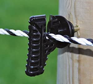 30 X Electric Fence Insulators For Tapes And Ropes Amazon