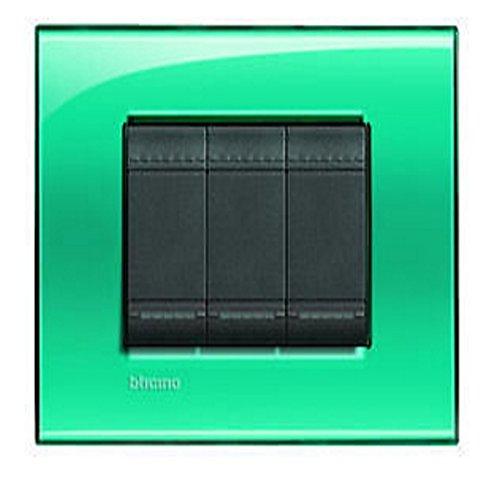 46 opinioni per Bticino Livinglight Lna4803Vd–Ll-placca 3M Verde profondo