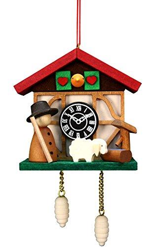 Alexander Taron Importer 10-0567 - Christian Ulbricht Ornament - Cuckoo Clock Sheep - 4.5