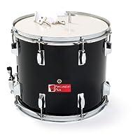 """Percussion Plus PP789-BK Junior Marching Snare Drum 14"""" - Black"""