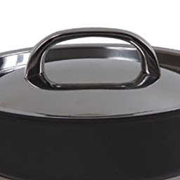 Circulon Infinite Hard Anodized Nonstick 6-Quart Covered Chef Pan