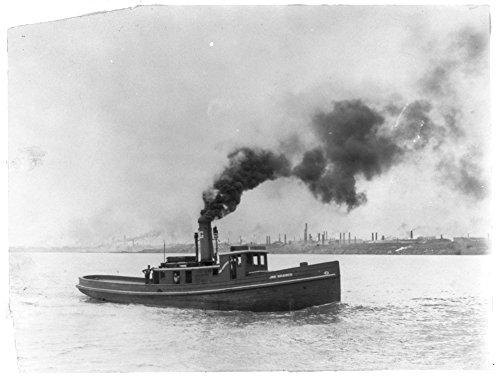 1903 Photo A tug boat - Joe Harris