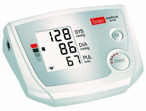 Boso Medicus Control, vollautomatisches Blutdruckmessgerät für den Oberarm mit Universal-Manschette