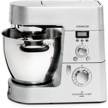 Kenwood KM084 - Robot de cocina (Acero inoxidable, 13.6 kg, 410 mm, 335 mm, Acero inoxidable, Masa): Amazon.es: Hogar