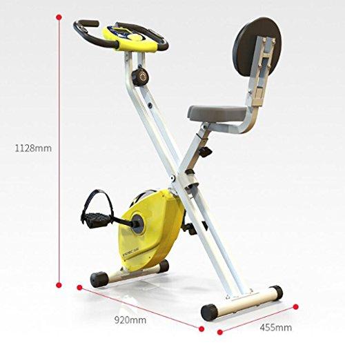 A-SSJ Bicicletas Estáticas y de Spinning Bicicleta magnética Interior casera de la Pérdida del Peso del Equipo de la Aptitud del Pedal magnético del Coche: ...