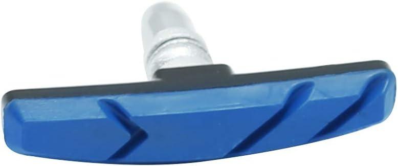 Black Bike brake pads with Hex Nuts/&Spacers,bicycle brake pad set 70mm-4 Pair