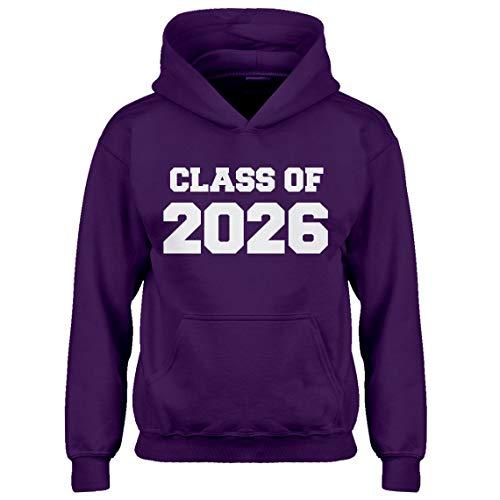 Indica Plateau Kids Hoodie Class of 2026 X-Large Purple Hoodie ()
