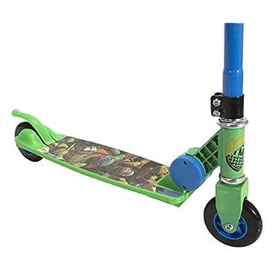 PlayWheels Teenage Mutant Ninja Turtles 2-Wheel Folding Scooter: Toys & Games