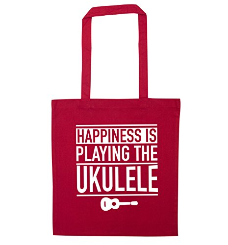 Tote Flox Happines Bag ukulele playing Creative Red is the wwRPBI