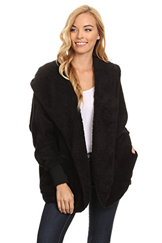 Woman Faux Shearling Jacket - 1