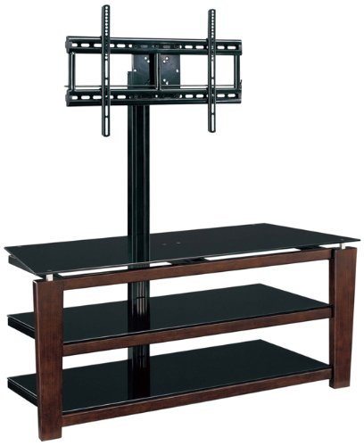 Whalen Furniture 3-in-1 Flat Panel TV Stand and Entertainment Console, 52-Inch -