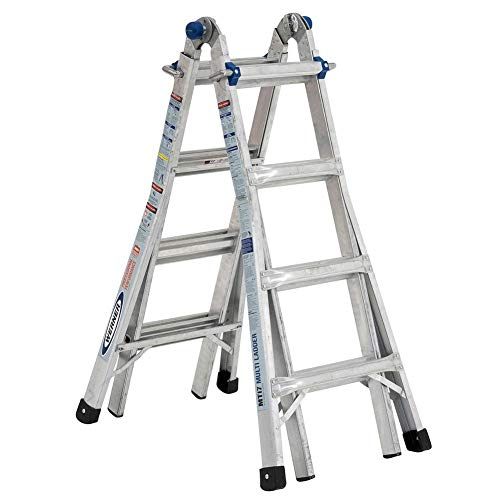 Werner MT-17 telescoping-ladders, 17-Foot (Converting A Storage Building Into A House)
